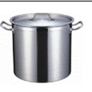 Котел 17 литров, 28х28 см, нержавеющая сталь фото