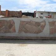 Заборы из камня Севастополь фото