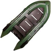 Надувная моторная лодка Bark BN330S килевая 330х150х42см, с жестким днищем,четырехиместная фото