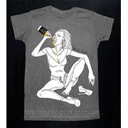 Шелкотрафаретная печать на футболках фото