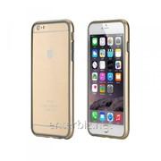 Чехол Rock for iPhone 6 Plus (5.5) Duplex Slim Guard Bumper Gold (RDSGB6PLG), код 75475 фото