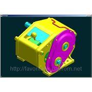 Механизм передач 108.00.2020А-02 на сеялку СЗ-3,6 фото