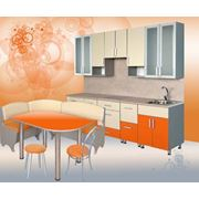 Кухонный гарнитур Мандарин Шкафы кухонные фото
