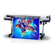 Печать на баннерной ткани фото