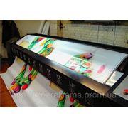 Широкоформатная полноцветная печать на баннере литом фото