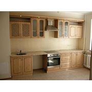 Кухни из дерева фото