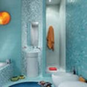 Различные виды керамической плитки для ванной фото