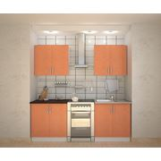 Комплект кухни GREIP Оранж-2 фото