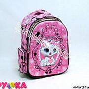 Рюкзак школьный кошечка 14-0200 фото