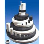 Стержни и диски вертикального прессования из фторопласта-4 фторопласта-4А и фторопласта-4 модифицированного изготавливаемого методом прессования с последующей термообработкой фото