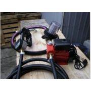 Минизаправка с насосом 40л/мин на 220 Вольт и электронным счетчиком фото