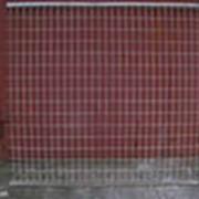 Сетка заборная строительная. фото