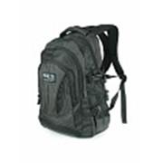 Черный рюкзак Polar 38309 городской фото