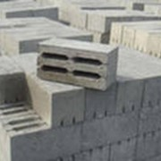 Блоки пескобетонные. фото
