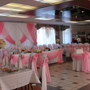 Украшение свадебного зала Витебск фото