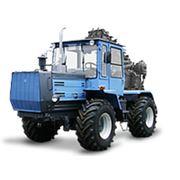 ХТЗ-150К-09-25 с машиной для резки мерзлого грунта МРМГ фото