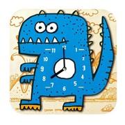 Часы-конструктор деревянные Динозавр фото