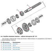 Техника дорожная строительная - трансмиссия - коробка передач асфальтоукладчика ДС-143А (2) фото