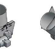 Клапан перекидной двустороний фото