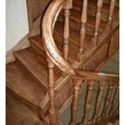 Лестницы изогнутые фото