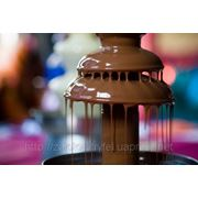 Фонтаны для шоколада двойные фото