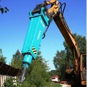 Услуги бетонолома, экскаватора с отбойным молотком. Крым, Ленинский р-н, Керчь фото