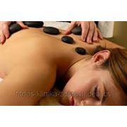 Стоун-терапия(массаж теплыми камнями) фото