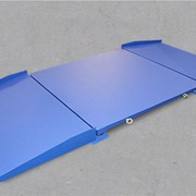 Платформенные весы с пандусами ВСП4-300Б9 1250х1250 фото