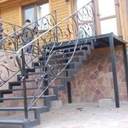 Лестницы под ключ Артикул: ЛК-007-1 фото