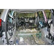 Шумоизоляция автомобилей Hyundai,Chevrolet,Samand,KIA,Lanos Донецк. фото
