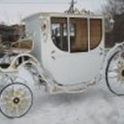 Свадебная карета модель 3 2 фото