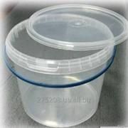 Ведро 1 литр с герметической крышкой фото