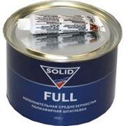 Шпатлевка наполнительная среднезернистая полиэфирная Solid Full, 1,8кг