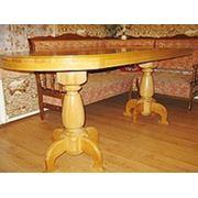 Стол обеденный деревянный фото