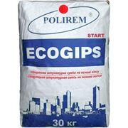 POLIREM 329 ECOGIPS-START — штукатурка (стартовая) фото