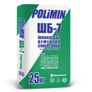 Шпаклёвка Polimin ШБ 7 цементная фото