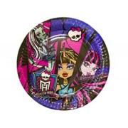 Тарелка Monster High 23см 8шт А фото