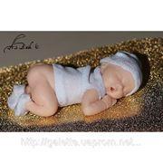 """Силиконовый молд """"младенец""""(код 00428) фото"""