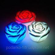 LED свечи в форме роз фото