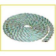 Канат тросовой свивки полиамидный тип ПАТ диаметр 16,0мм фото