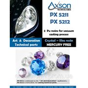 Полиуретан модельный прозрачный Axson PX5211 (упаковка 1.6кг) фото