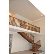 Лестница дизайн D008