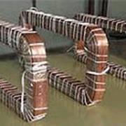 Катушки главных и дополнительных полюсов двигателей постоянного тока фото