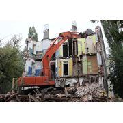 Демонтаж сооружений находящихся в аварийном состоянии. фото