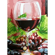 Картина по номерам Красное вино фото