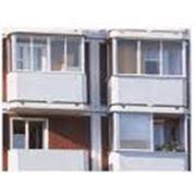 Изготовление балконов фото