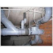 Монтаж и реконструкция канализации фото