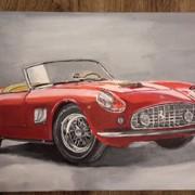 Картина Ferrari 1956 фото