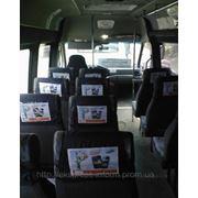 Реклама на транспорте в Ялте,реклама в маршрутных такси Ялта фото