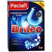Соль для посудомоечных машин Paclan Brileo 1кг фото